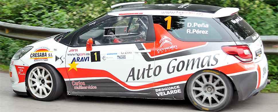 Peña vence en el Rallye Valles Pasiegos