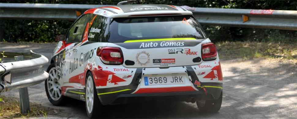 Dani Martinez venció en el Rallysprint de Otañes